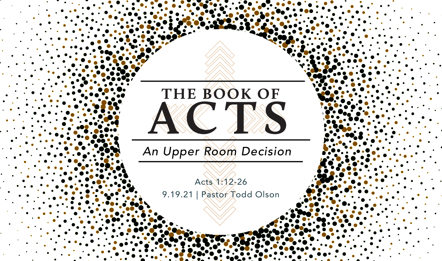 An Upper Room Decision