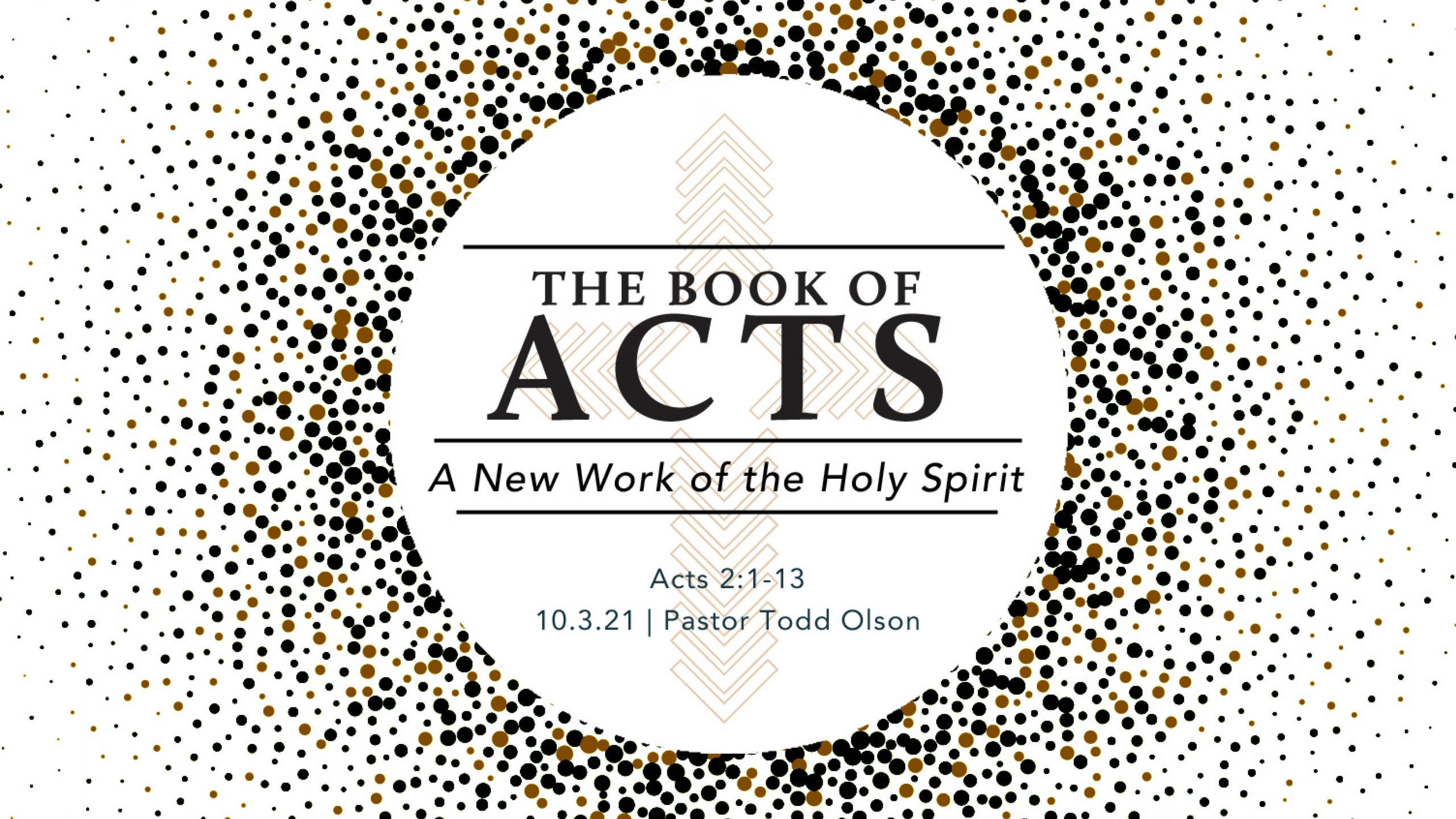 A New Work of the Holy Spirit